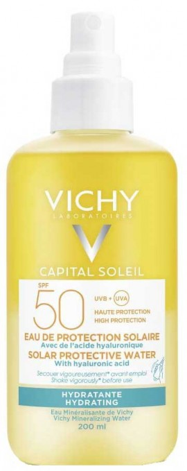 Vichy Capital Soleil Water Hydrating SPF50, 200ml