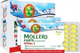 Möller's Forte Omega 3, 150 Μαλακές Κάψουλες