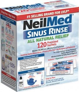 NeilMed Sinus Rinse Για Ενήλικες 120 Ανταλλακτικά Φακελάκια