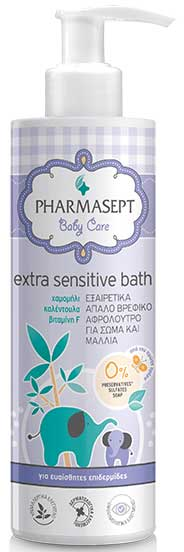 Pharmasept Tol Velvet Baby Extra Sensitive Bath, 250ml
