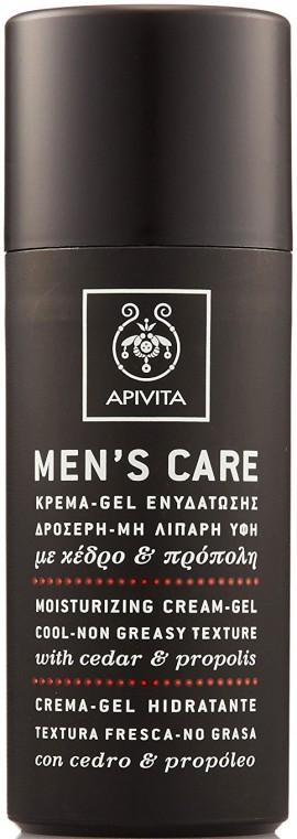 Apivita Mens Care Κρέμα- Gel  με Κέδρο & Πρόπολη,50ml
