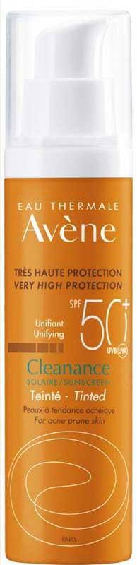Avene  Cleanance Solaire Teinte SPF50+, 50ml