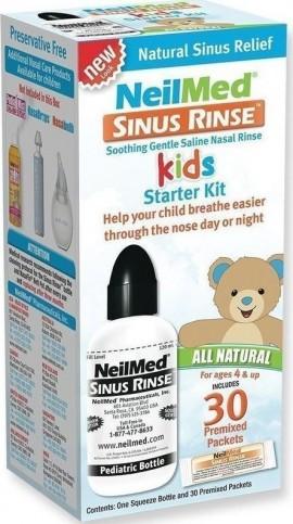 NeilMed Sinus Rinse Kit Για Παιδιά, 1 Συσκευή & 30 Φακελάκια