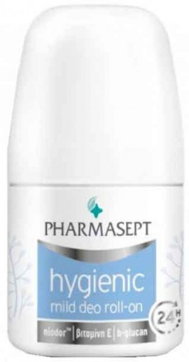 Pharmasept Hygienic Mild Deo 24h Roll-On, 50ml