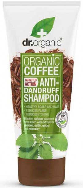 Dr. Organic Coffe Anti- Dandruff Shampoo, 265ml