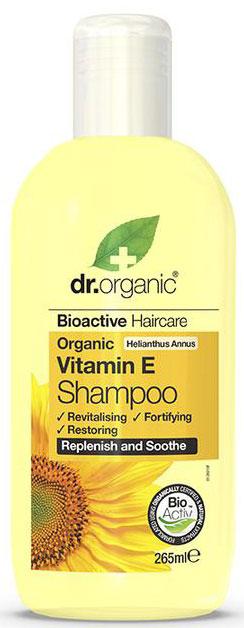 Dr. Organic Vitamin E Shampoo, 265ml