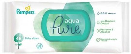 Pampers Pure Aqua, 2x48 Τεμάχια