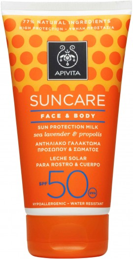 Apivita Sun Care Face & Body SPF50, 150ml