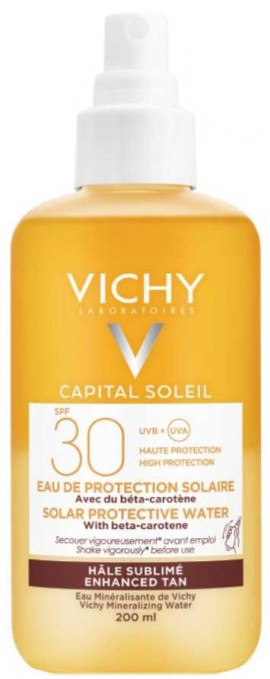 Vichy Capital Soleil Protective Solar Water Enhanced Tan SPF50, 200ml