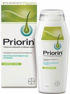 Priorin Σαμπουάν Για Κανονικά-Ξηρά Μαλλιά, 200ml