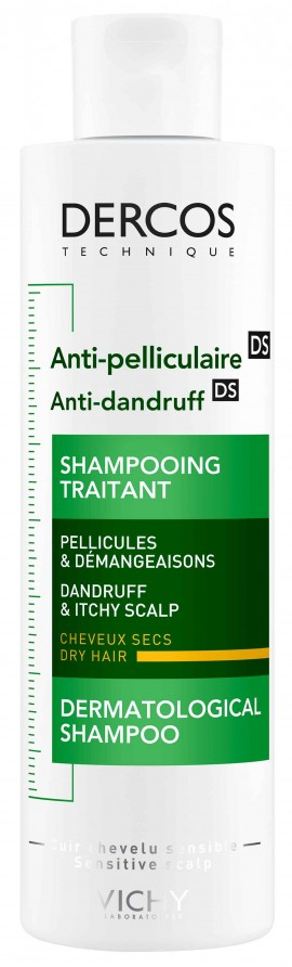 Vichy Dercos Anti-Dandruff For Dry Hair,  200ml