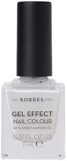 Korres Gel Effect Nail Color 11 Coconut Smothie, 11ml