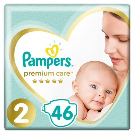 Pampers Premium Care Νο2 (4-8kg), 46 Τεμάχια
