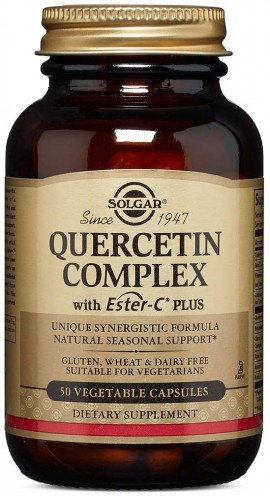 Solgar Quercetin Complex  With Ester-C Plus, 50 Κάψουλες