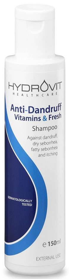 Hydrovit Anti- Dunfruff Shampoo, 150ml