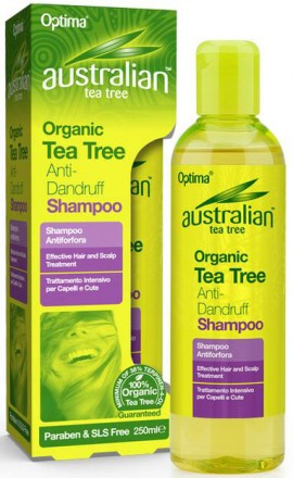 Optima Austalian Tea Tree Anti-Dandruff Shampoo, 250ml