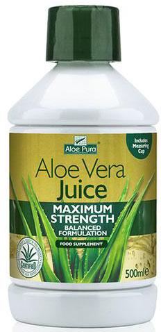 Optima Aloe Pura Juice Maximum Strenght, 500ml