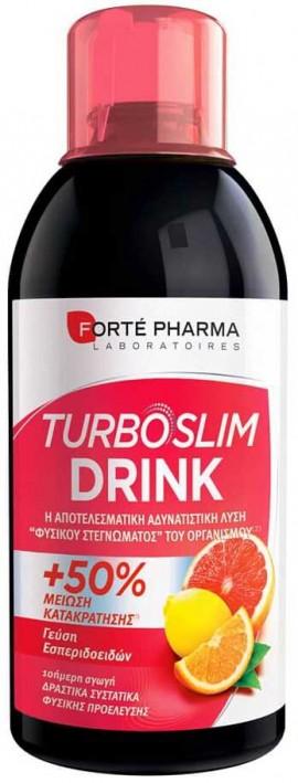 Forte Pharma Turboslim Drink Γεύση Εσπεριδοειδών, 500ml