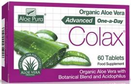 Optima Aloe Pura Aloe Vera Colon Cleanser, 60 Tαμπλέτες