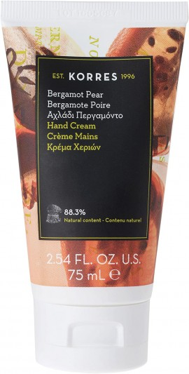 Korres Κρέμα Χεριών Αχλάδι & Περγαμόντο, 75ml