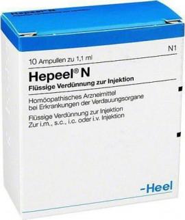 Heel Hepeel N, 10 Ενέσιμες Αμπούλες