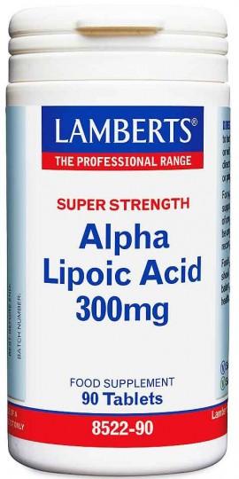 Lamberts Alpha Lipoic Acid 300mg, 90mg