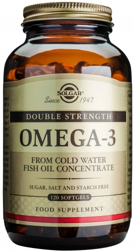 Solgar Double Strength Omega-3 700mg, 120 Κάψουλες