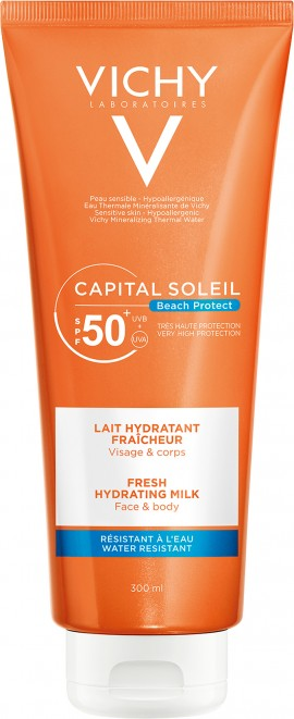 Vichy Capital Soleil Fresh Hydrating Milk SPF50+, 300ml