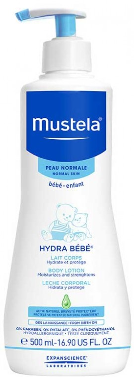Mustela Hydra Bebe Body Lotion, 500ml