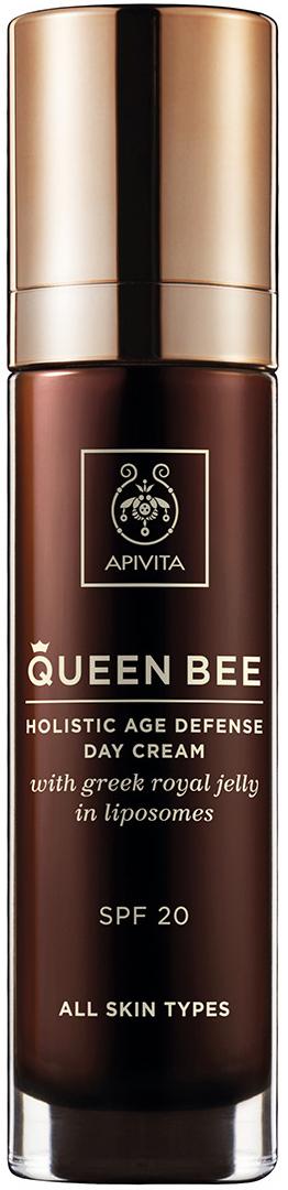 Apivita Queen Bee Κρέμα Ημέρας Με Βασιλικό Πολτό SPF20, 50ml