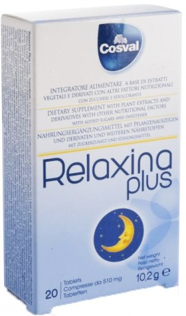 Cosval Relaxina Plus, 20 Μασώμενες Ταμπλέτες