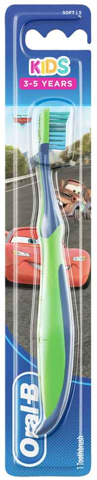 Oral- B Kids Cars 3-5 Eτών , 1 Τεμάχιο