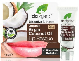 Dr. Organic Coconut Oil Lip Serum, 10ml