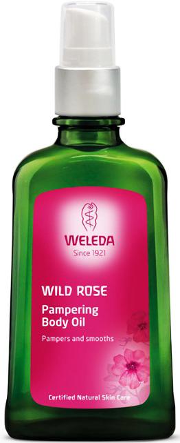 Weleda Λάδι Σώματος Άγριου Τριαντάφυλλου, 100ml