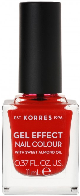 Korres Gel Effect Nail Color 48 Coral Red, 11ml