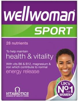 Vitabiotics Wellwoman Sport, 30 Ταμπλέτες