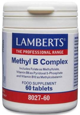 Lamberts Methyl B Complex, 60 Ταμπλέτες