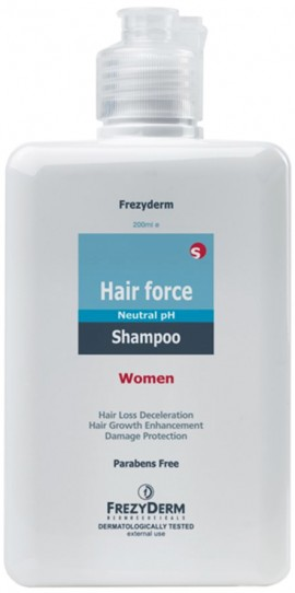 Frezyderm  Hair Force Shampoo Women, 200ml