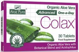 Optima Aloe Pura Aloe Vera Colon Cleanser, 30 Tαμπλέτες