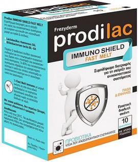 Frezyderm  Prodilac Immuno Shield Fast Melt, 10 Φακελάκια