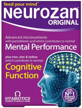 Vitabiotics Neurozan Original, 30 Ταμπλέτες
