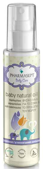 Pharmasept Tol Velvet Baby Natural Oil, 100ml