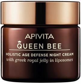 Apivita Queen Bee Κρέμα Νύχτας Με Βασιλικό Πολτό, 50ml