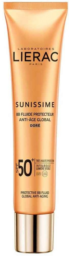 Lierac Sunissime BB Dore Fluide Protecteur Anti-Age Global SPF50, 40ml
