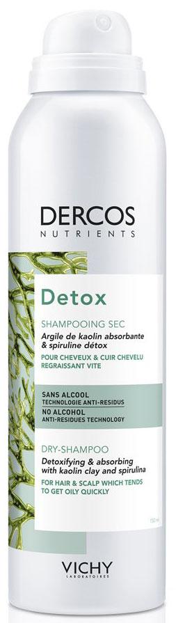 Vichy Dercos Nutrients Detox Dry Shampoo, 250ml