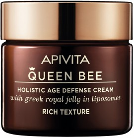 Apivita  Queen Bee Κρέμα Ημέρας Πλούσιας Υφής Με Βασιλικό Πολτό, 50ml