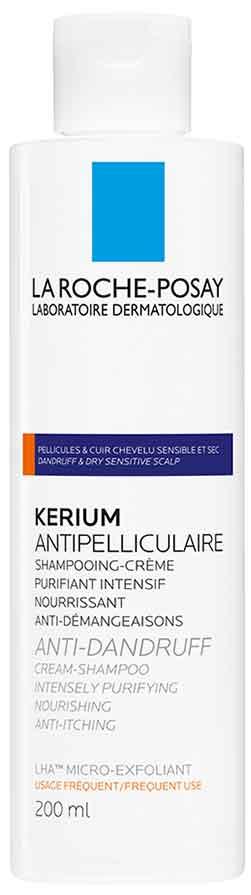 La Roche- Posay Kerium Anti-Dandruff Cream Shampoo, 200ml