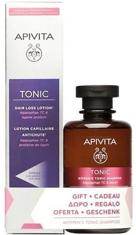 Apivita Promo Hair Loss Lotion Λοσιόν Κατά Της Τριχόπτωσης 150ml & ΔώροΤονωτικό Σαμπουάν Για Γυναίκες 250ml