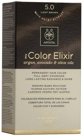 Apivita My Color Elixir 5.0 Καστανό Ανοιχτό