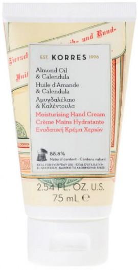 Korres Κρέμα Χεριών Mε Αμυγδαλέλαιο & Καλέντουλα, 75ml